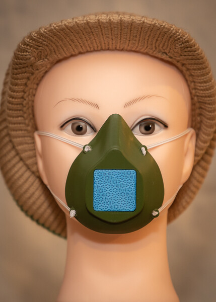 Adult Face Mask - Army Green