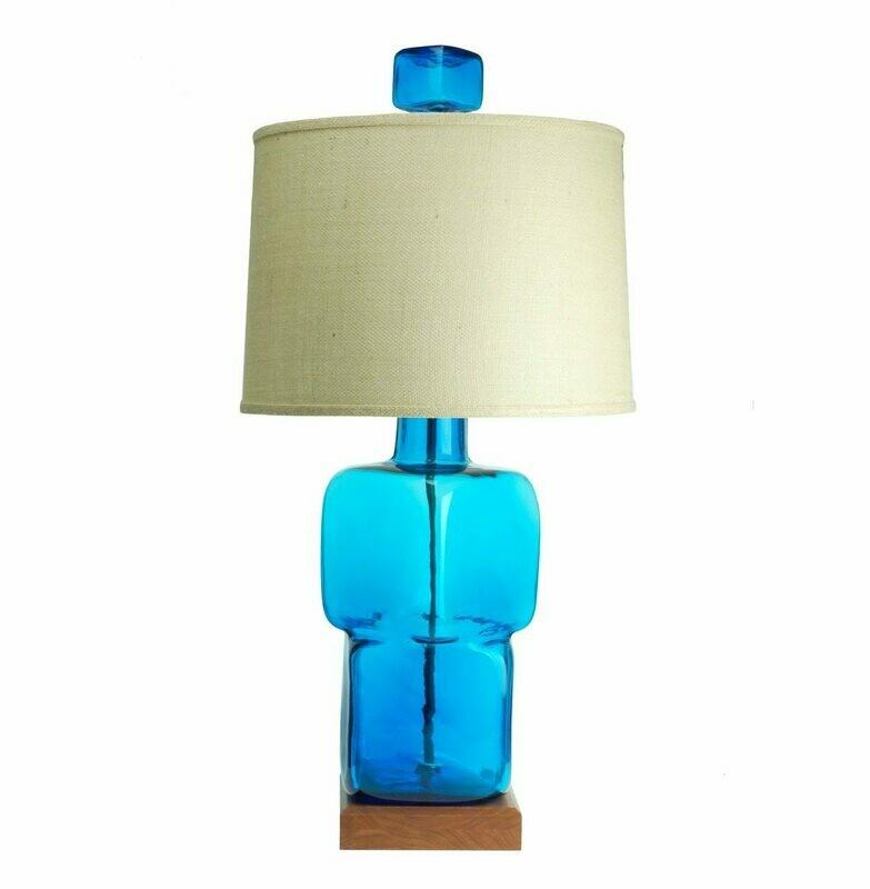 Blenko Lamp