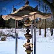 Stoneware Totem Chime