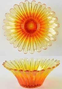 Blenko Sunflower Bowl