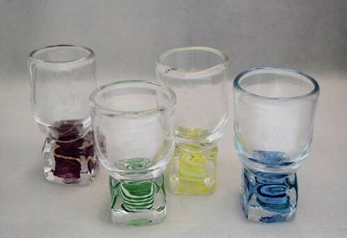 "Shot Glass ""On Ice"""