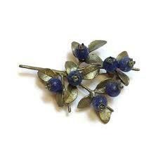 Michael Michaud Blueberry Pin