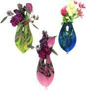 Glass Hanging Vases