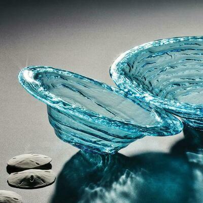 Ultramarine Round Serving Bowl