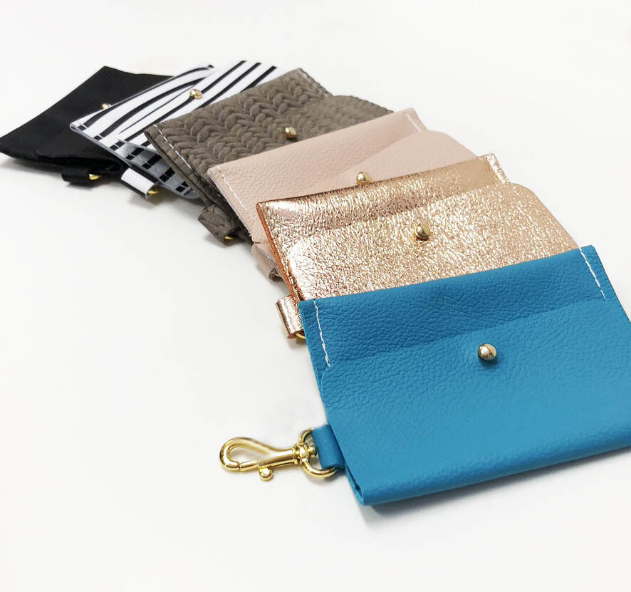 Card Wallet Keychain