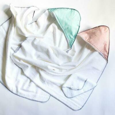 Hooded Baby Towels w/ Washcloth