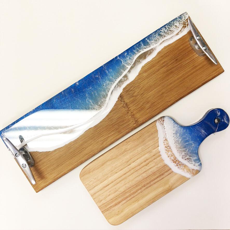 Resin Wave Tapas Boards