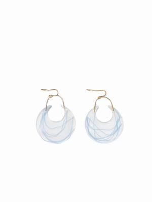 Water Lilies Earrings