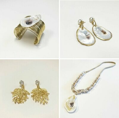 Oysters and Pearls  Jewelry