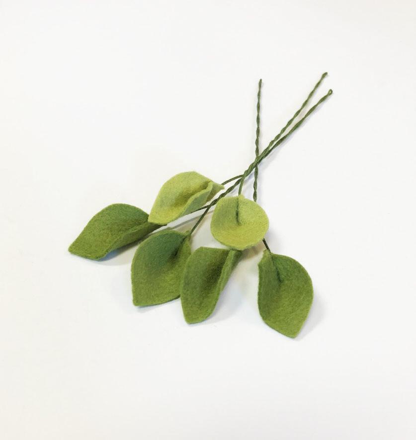 Felt Filler Leaf Stem