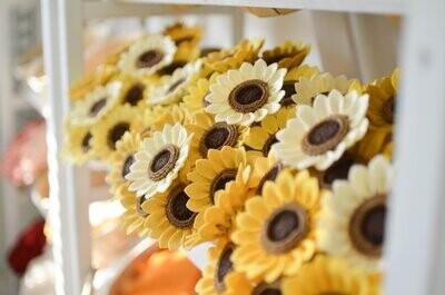 Felt Sunflower Stem