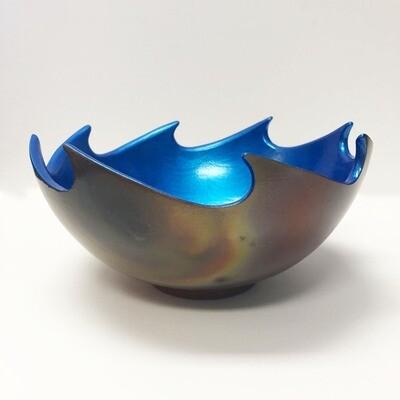 Raku Wave Bowls