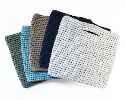Chunky Cotton Crocheted Bag