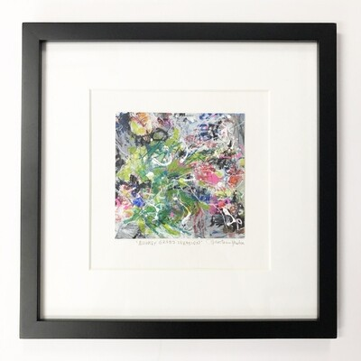 Helen Newton Framed 12 x 12 Abstracts