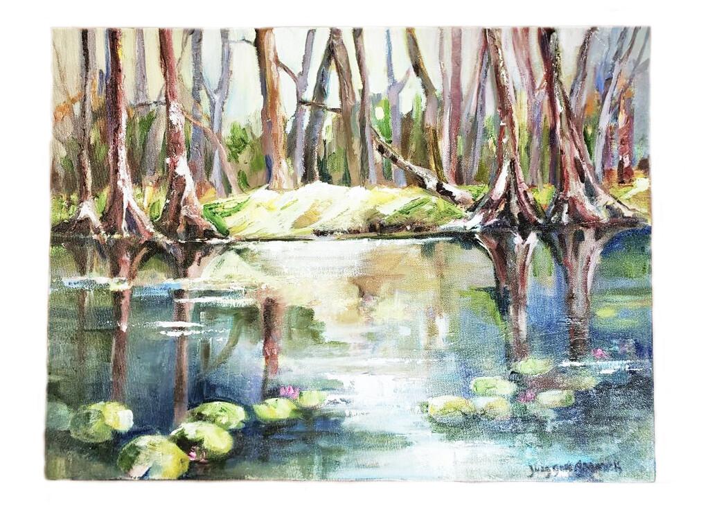 Judy Adamick Original Oil Paintings