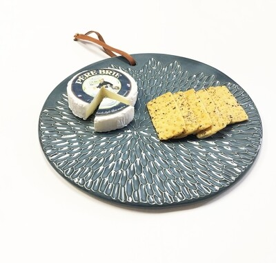 Carved Petals Charcuterie Board