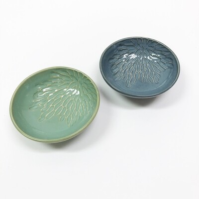 Carved Petals Small Bowl