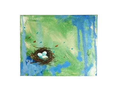 Trinity Nest Paintings by Carey Lee Hudson