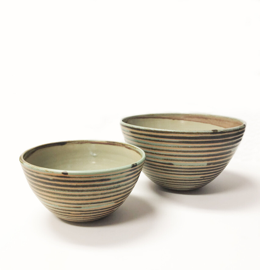 Turquoise Pottery Bowls