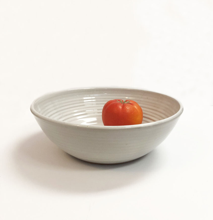White Serving Collection