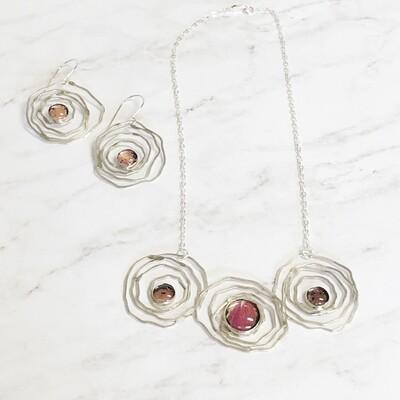 Rose Petal Rosette Jewelry