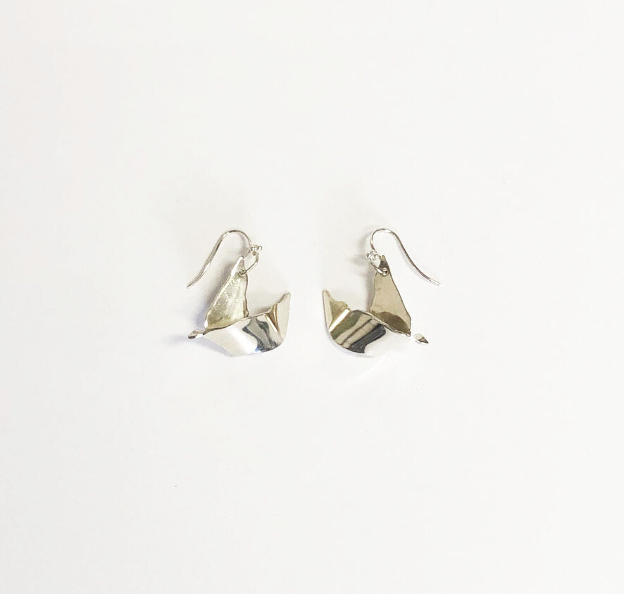 Silver Seagulls Jewelry