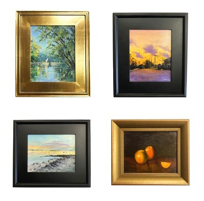 Connie Snipes 8 x 10 Oil Paintings