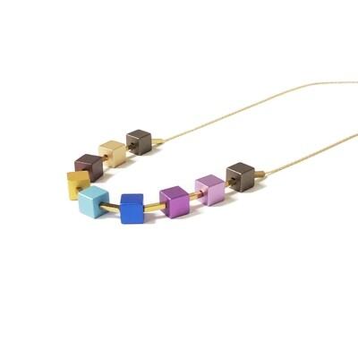 Multi Cube Necklace