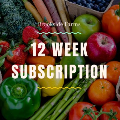 Brookside's 12 Week Subscription Box!