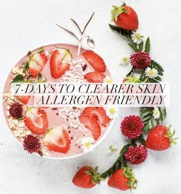 7 Days to Clearer Skin - Allergen Friendly