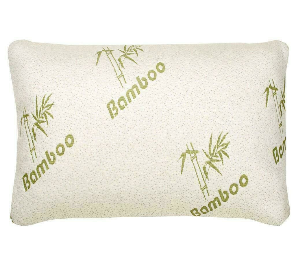 Premium Bamboo Memory Foam Pillow with