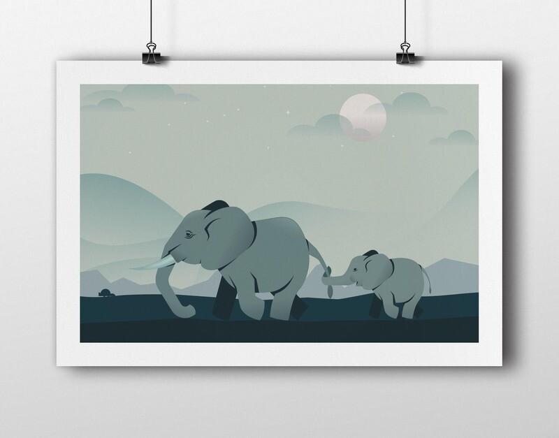 Elephant takes on the world