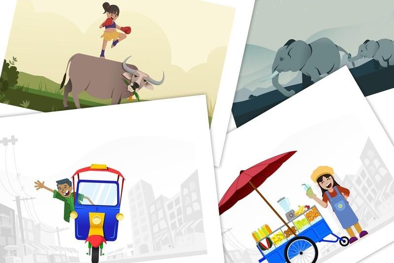 All 4 designs