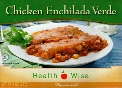 Meal Dinner Chicken Enchilada Verde Shelf Stable Entree Healthwise Diet Plan (compare to Ideal Protein)
