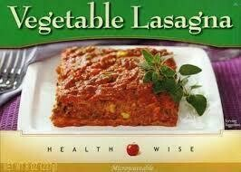 Meal Dinner Vegetable Lasagna Shelf Stable Entree Healthwise Diet Plan (compare to Ideal Protein)