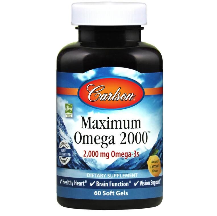 Maximum Omega 2000 60gel Carlson