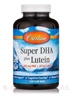 Super DHA + Lutein 60gel Carlson