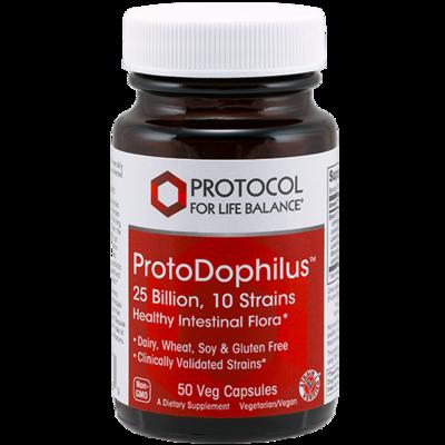 Protodophilus Probiotic 25bil 50tab Protocol for Life Balance