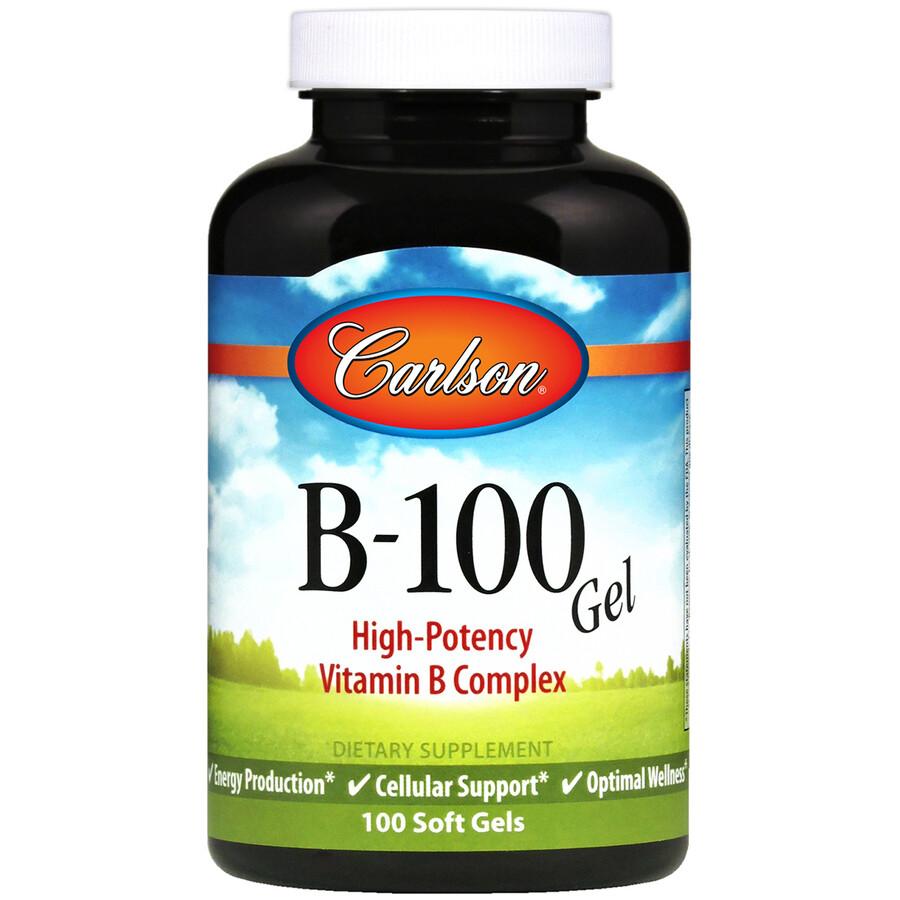 Vitamin B100 (B Complex) 100 gel Carlson
