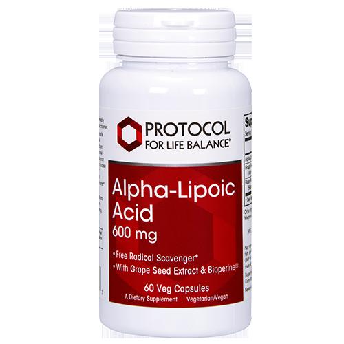 Alpha Lipoic Acid 250mg 90caps Protocol for Life Balance