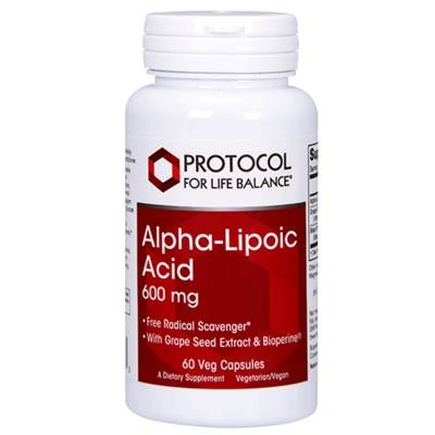 Alpha Lipoic Acid 250mg 90caps Protocol for Life Balance