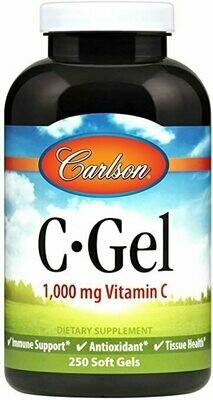 Vitamin C 60 gelcap Carlson