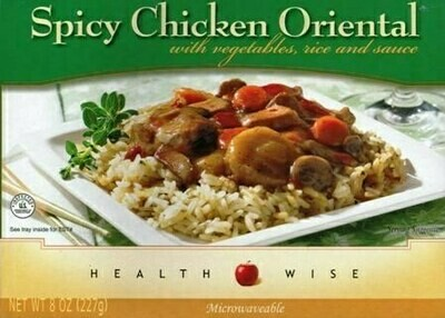 Meal Dinner Spicy Oriental Chicken Shelf Stable Entree Healthwise Diet Plan (compare to Ideal Protein)