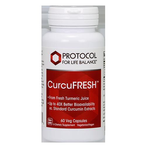 Curcufresh Curcumin 500mg 60caps Protocol for Life Balance