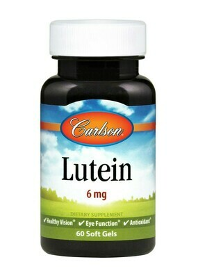 Lutein 6mg 60gel Carlson