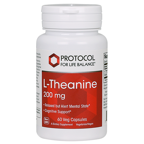 L-Theanine 200mg 60cap Protocol for Life Balance