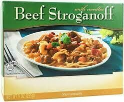 Meal Dinner Beef Stroganoff With Noodles Shelf Stable Entree Healthwise Diet Plan (compare to Ideal Protein)