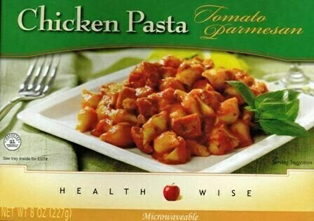 Meal Dinner Chicken Pasta Parmesan Shelf Stable Entree Healthwise Diet Plan (compare to Ideal Protein)