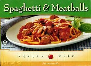 Meal Dinner Spaghetti With Meatballs Shelf Stable Entree Healthwise Diet Plan (compare to Ideal Protein)