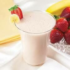 Drink Strawberry Banana Smoothie Healthwise Diet Plan Box of 7 (compare to Ideal Protein)